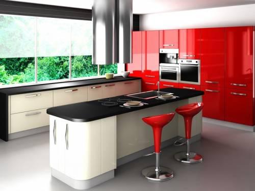 Comment organiser une cuisine de salon rectangulaire?